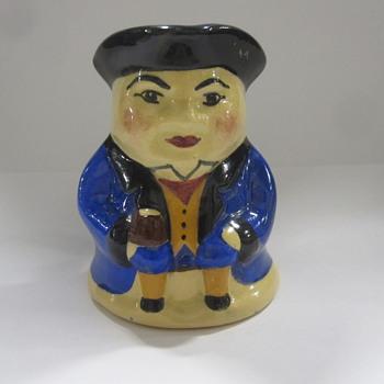 Vintage Toby Mug - Art Pottery