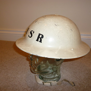 British National Hospital Service Reserve steel helmet (1949 - 1968) - Military and Wartime
