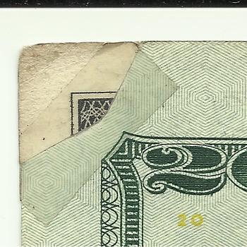 Mint error $20