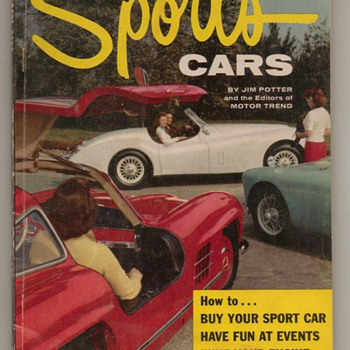 1956 Sports Cars Magazine - Paper