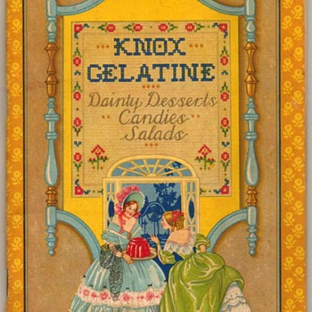 1931 - Knox Gelatin Recipe Book - Books