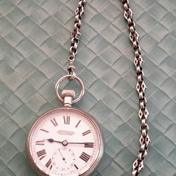 Railway Lever Pocket Watch - Pocket Watches
