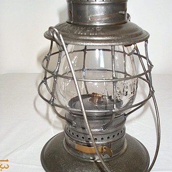 Atlantic & Great Western RR Railroad Lantern