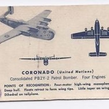 Airplane Spotter cards - Advertising