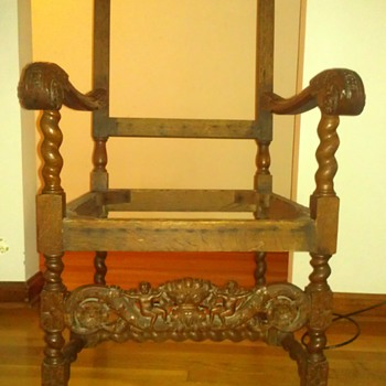 King Louis Throne Chair(?)