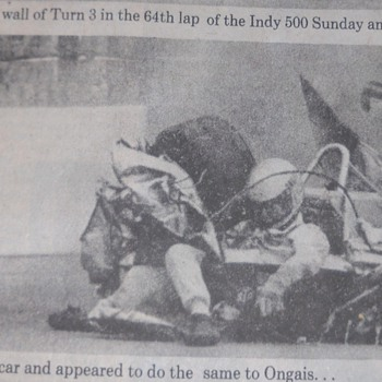 Danny Ongais '81 Indy 500 crash and Billie Jean King vs Bobby Riggs