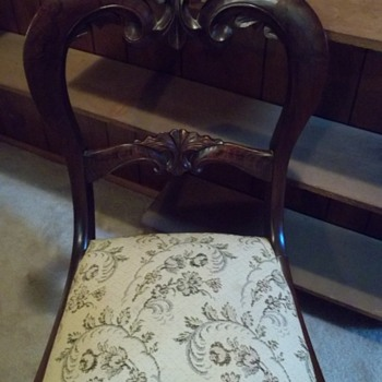 Solid Wood Antique Chair - Furniture