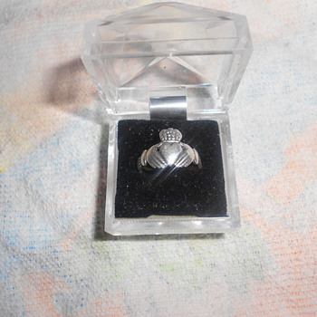 Made in Ireland Claddagh ring