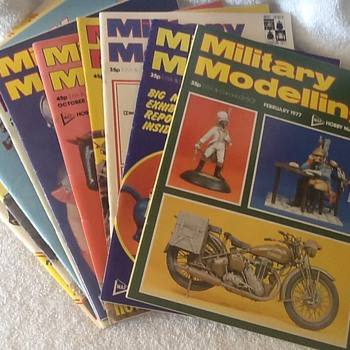 Military modelling magazines - Military and Wartime