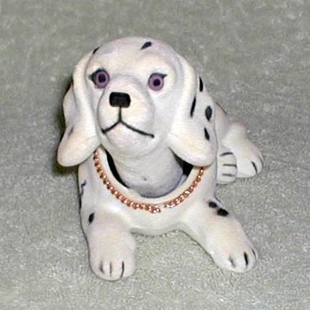 Dalmatian Dog Bobble-Head