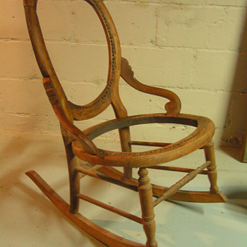 Rocking Chair in the Cellar