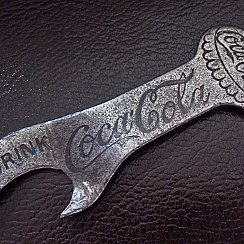 1920s/1930s  Coca Cola Pocket Opener - Coca-Cola