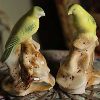 Large Bird Figurines signed 'BRAZIL'? - Animals
