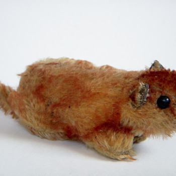 Antique Stuffed Animal~Squirrel?....some cute little creature~Looks very old