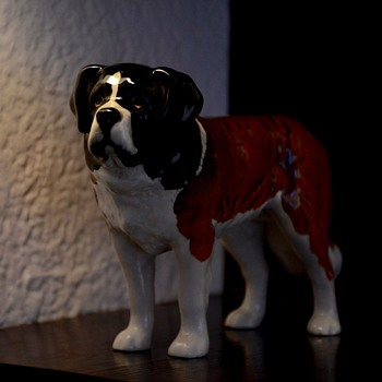 Beswick saint bernard  - Animals