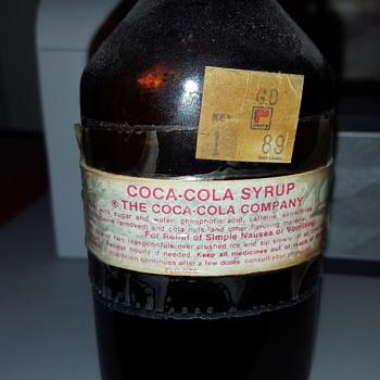 Coca-Cola Syrup Bottle 3oz The Coca Cola Company
