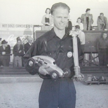 Roy Richter photos, National Rail Track Champion & Creator of Bell Helmet Co. & Cragar Wheel Co.