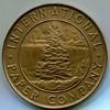International Paper Corporation 25 Year Medal