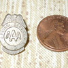 Vintage Miniature AAA patrol sevice badge