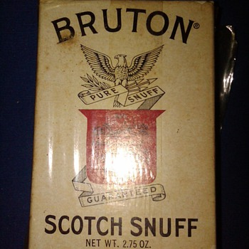 Bruton Scotch Snuff box