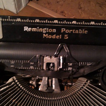 Remington Portable Model 5 - Office
