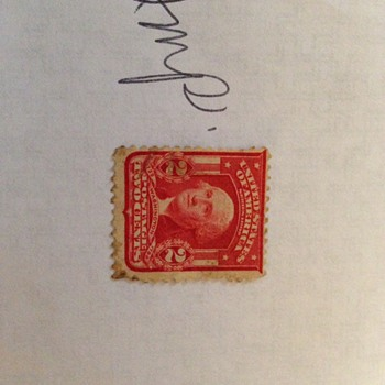 2 cent Washington stamp - Stamps