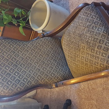 Victorian sewing rocking chair?? - Furniture