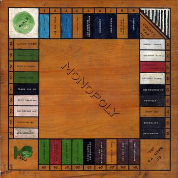 THE 1923 PHILADELPHIA FOLK MONOPOLY GAME