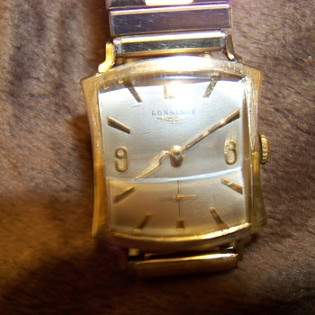 longines notched tank - Wristwatches