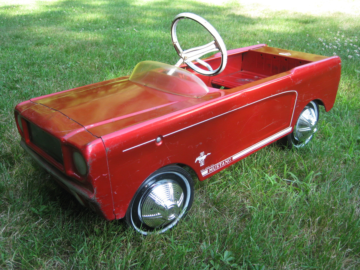Vintage Pedal Car Parts : My latest amf mustang find collectors weekly