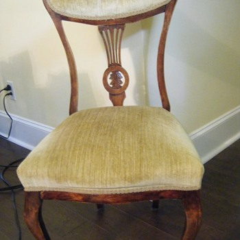 Unknown era ladies chair