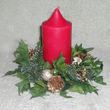 Christmas Candle / Wreath - Christmas