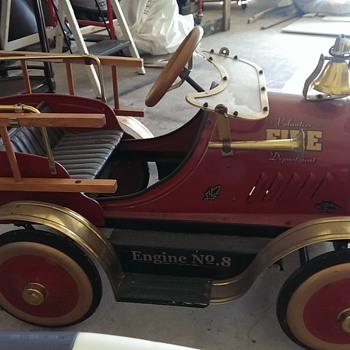 Classic Volunteer Fire Department Engine no. 8