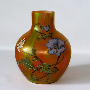 Harrach Vase…very similar to Warren's and Alisa's  - Art Glass