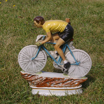 Tour de France Ceramic Figurine - Figurines