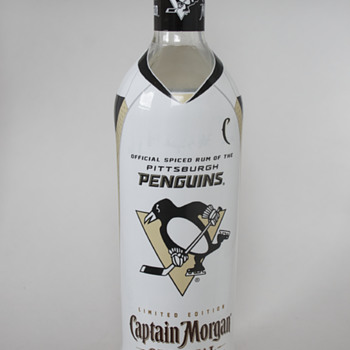 Captain Morgan Pittsburgh Penguins' Collectible Bottle…..