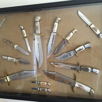 Western Knives, Boulder Co. Stag Collection