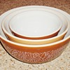 Woodland Pyrex Bowls