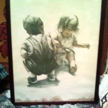Joanne Thompson Lithograph/children