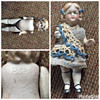 estate find all bisque girl doll