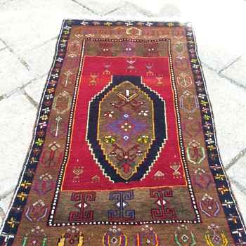 Antique Persian rug - Asian