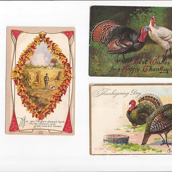 Happy Thanksgiving - Postcards