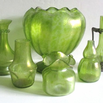 "LOETZ CISELE ""MELON RIND"" COLLECTION. - Art Glass"