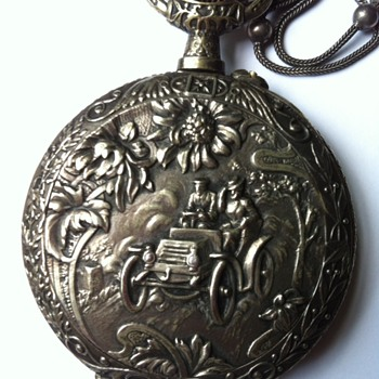 Grand-father's motor show pocket watch.