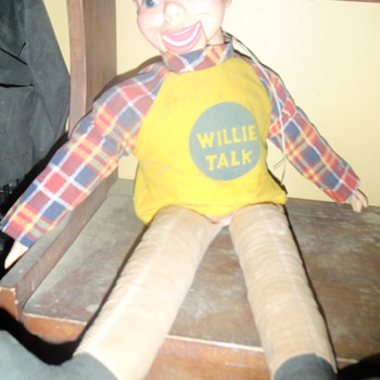 1970'S WILLIE TALK VENTRILOQUIST DOLL HORSEMAN - Dolls