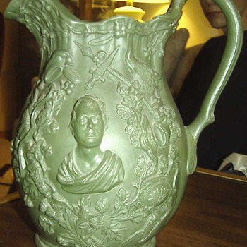 Sir Walter Scott pitcher
