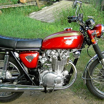 1971 CB 450 Honda All Original Condition  - Motorcycles