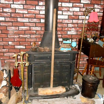 Very Large Wooden Mallet with Log Head - Tools and Hardware