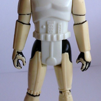Vintage Star Wars Loose POTF Luke Skywalker in Stormtrooper Disguise