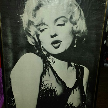 One of my newest Marilyn pieces